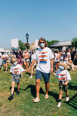 sean macpherson in A-Listers Join Montauk's Love At The End March For Black Lives Matter