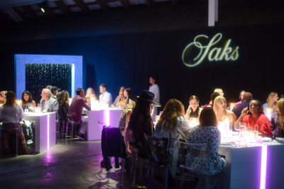 Saks Celebrates Summer Out East With An Art-Filled Fashionable Dinner