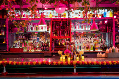 A Boozy, Colorful Day Of The Dead Pop-Up Has Taken Over One Of Our Favorite Haunts