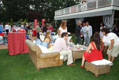 jill zarin's 4th of july party