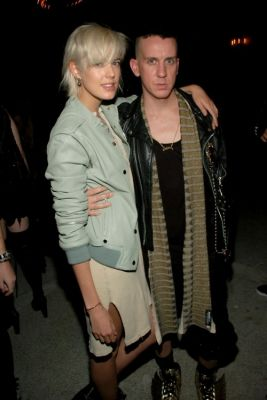 Agyness Deyn, Jeremy Scott