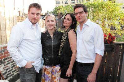 Billy Farrell, Lisa Salzer, Lesley Blume, Greg Macek