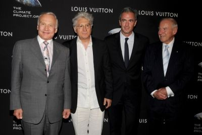 Buzz Aldrin, Jean Lariviere, Daniel Lalonde, Jim Lovell