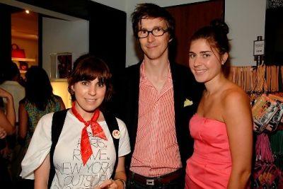 Andi Teran, Hamish Roberston, Jessica Flint