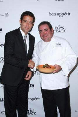 Clive Owen, Emeril Lagasse