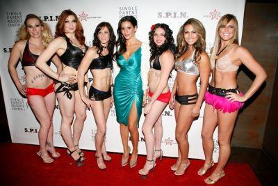Alethea, Marlo, Becka, Diane Passage, Sarah, Mina, Barbara, (Pole Dancing Finalists)