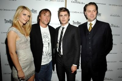 Claire Danes, Richard Linklater, Zac Efron, Christian McCay