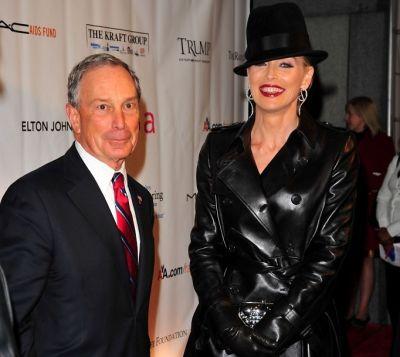 Michael Bloomberg, Sharon Stone