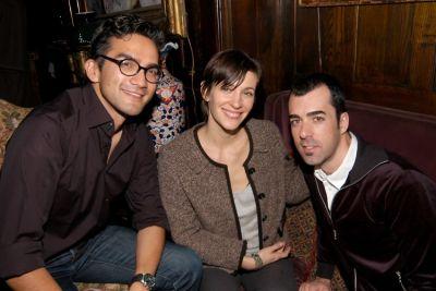 Tairone Bastien, Candice Madey, Raul Juncosa