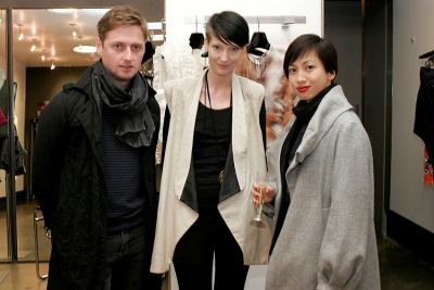Dima Dubson, Mandy Coon, Teresa Cheng