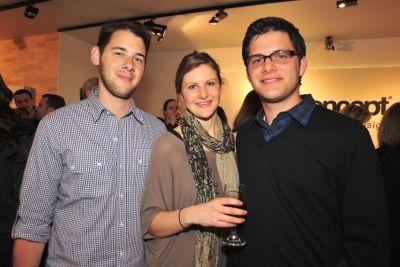 Ethan Firestein, Tory Hoen, Ari Heckman