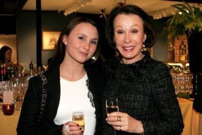 Georgina Bloomberg, Susan Bloomberg