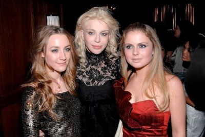 Rose McIver, Courtney Love, Saoirse Ronan