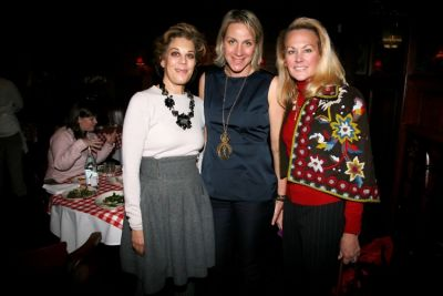 Peggy Siegal, Courtney Moss, Muffy Potter Aston