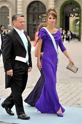 King Abdullah, Queen Rania
