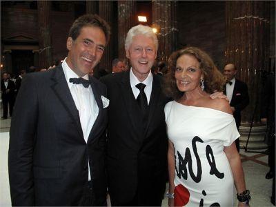 Bill Clinton, Diane von Furstenberg