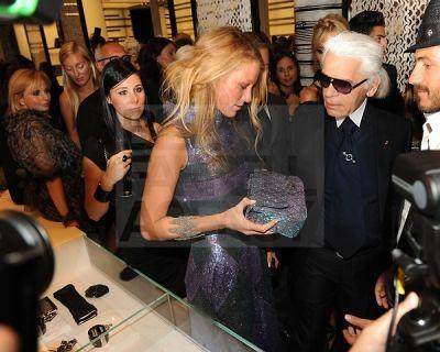 Blake Lively, Karl Lagerfeld