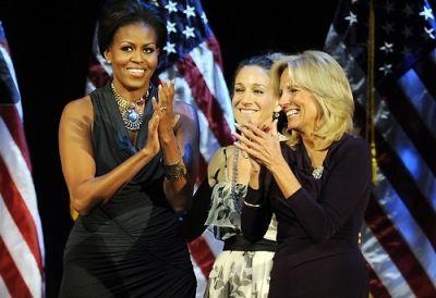 Michelle Obama, Sarah Jessica Parker, Jill Biden