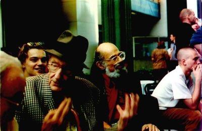 Leonardo Dicaprio, Williams Burroughs, Allen Ginsberg