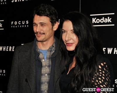 James Franco, Marina Abramovic