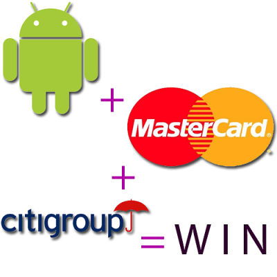 android-mastercard-citigroup