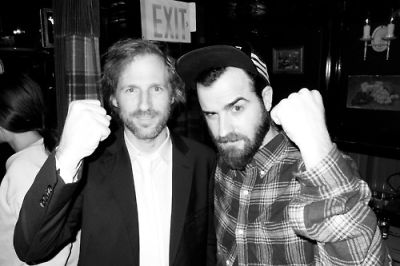 Spike Jonze and Justin Theroux