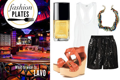 Fashion Plates: What To Wear To NYC's Craziest Brunch Spot!