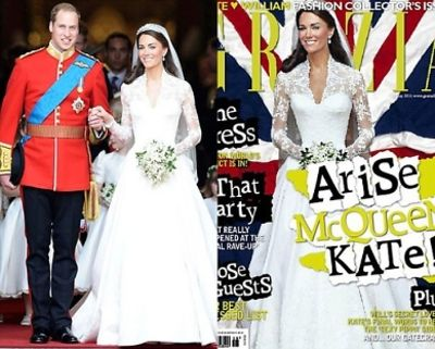 Grazia cover of Kate Middleton