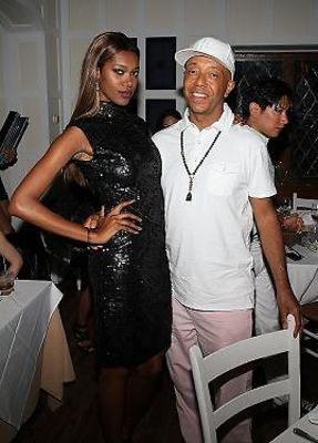 Jessica White, Russell Simmons