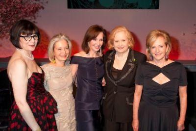Jill Kraus, Marie-Josée Kravis, Patricia Phelps de Cisneros