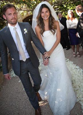 Lily Aldridge Wedding