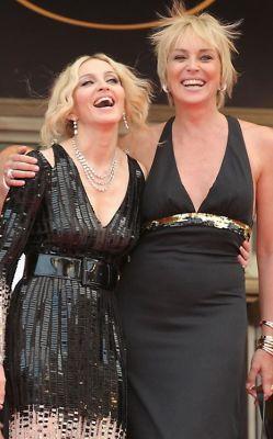 Madonna, Sharon Stone