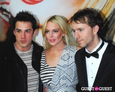 Michael Trevino, Lindsay Lohan, Tyler Shields