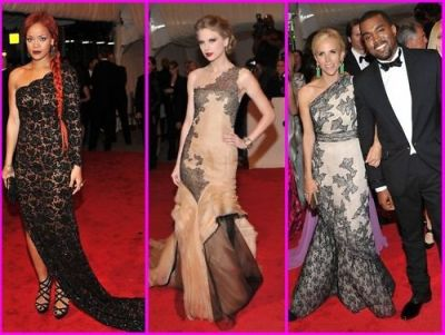 Rihanna, Taylor Swift, Tory Burch