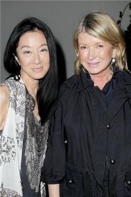 Vera Wang, Martha Stewart