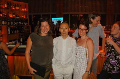 Anne Pasternak, Terence Koh, and Lucy McIntyre