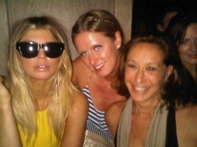 Fergie, Nicky Hilton, Donna Karan