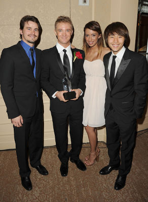 Jason Ritter, Michael Welch, Christian Serratos, Justin Chon