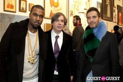 Kanye West, George Condo, Marc Jacobs