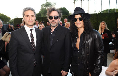 Michael Govan, Tim Burton, Slash