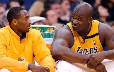 Shaq, Kobe Bryant