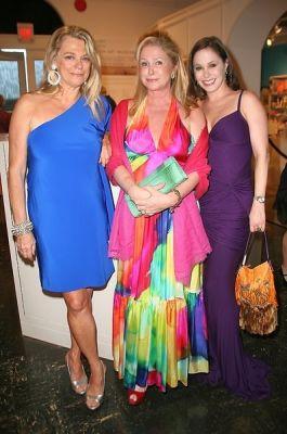 Debbie Bancroft, Kathy Hilton, Tiffany Dubin