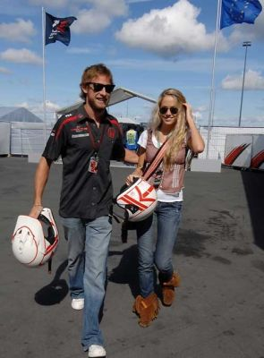 Jenson Button, Florence Brudenell-Bruce