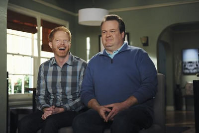 Jesse Tyler Ferguson and Eric Stonestreet on Modern Family