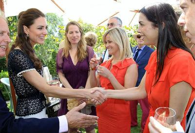 Kate Middleton, Kristin Gore, Reese Witherspoon, Jessica de Rothschild