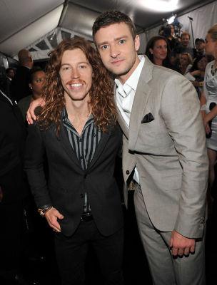 Shaun White, Justin Timberlake