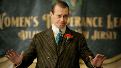 Steve Buscemi as Nucky Thompson in Boardwalk Empire