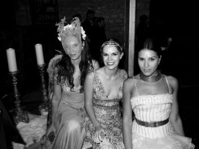 Tatiana Santa Domingo, Eugenie Niarchos, Margherita Missoni