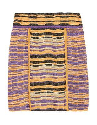 M Missoni Crochet Mini Skirt
