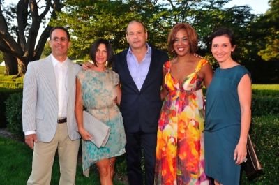 Jerry Seinfeld, Jessica Seinfeld, Reed Krakoff, Gayle King, Delphine Krakoff